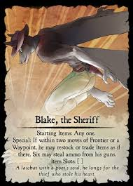 Blake the Sherif Card